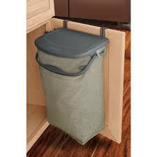 wesco pull out bin big bio double recycler 64l binopolis kitchen