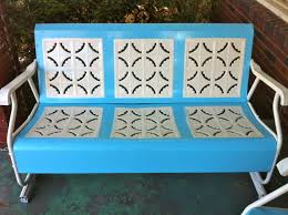 before and after vintage patio set the adventures of ernie bufflo