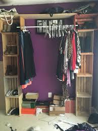 closet clothes rack support home design ideas throughout best 25