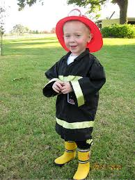 Firefighter Halloween Costume Diy Boy Halloween Costumes