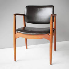 Reupholster Leather Chair Refinishing Re Upholstering Eric Buch Model 49 Teak Chairs
