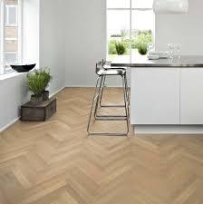 Oak Herringbone AB White Engineered Wood Flooring - Herringbone engineered wood flooring