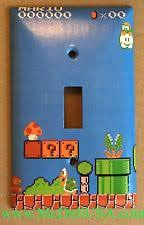 Super Mario Home Decor Mario Light Switch Cover Ebay