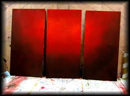 Red Paint by How To Paint A Vibrant Red Background Step By Step Fast And