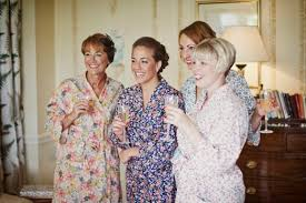 wedding dressing gowns bridesmaid dressing gowns uk