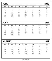 printable calendar 2018 august printable calendar june july august 2018 yspages com