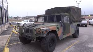 armored humvee interior 1995 hmmwv humvee m998 review youtube