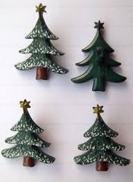 dill christmas tree buttons 4 pack shanked
