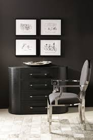 82 best bernhardt interiors images on pinterest bernhardt masculine black embossed crocodile patterned leather chest bed down furniture atlanta