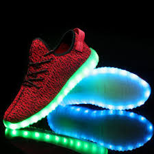 led light up shoes for adults unisex casual shoes chaussure tenis led light trainers led basket
