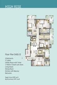 Duplex Layout Floor Plans Mahagun Moderne Sector 78 Noida Mahagun Noida