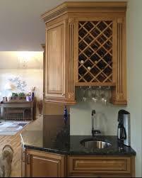 kitchen cabinet wine rack ideas kitchen cabinet wine rack 4973