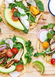 spicy grilled chicken tacos recipe simplyrecipes com