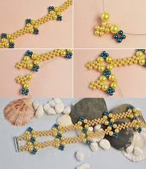 yellow pearl bracelet images 11152 best bead patterns bracelets images seed jpg