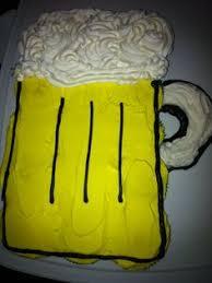 beer mug b day cupcake cake cupcakes pinterest cake