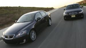 lexus sedan classes 2006 bmw 330i vs 2006 lexus is 350 war of the buttons it comes