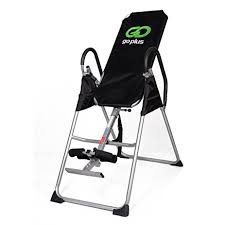 inversion table exercises for back amazon com inversion table deluxe fitness chiropractic table back