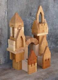 Building A Wooden Desktop by Castle Building Blocks Handmade Hardwood Thevillageblocksmith Com