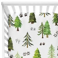 woodlands tree crib sheet caden