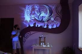 peinture murale chambre donnez une dimension féérique à votre chambre avec cette peinture