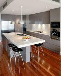 ilot central cuisine avec evier la cuisine équipée avec îlot central 66 idées en photos archzine