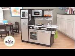 Childrens Wooden Kitchen Kidkraft by Kidkraft Uptown Espresso Kitchen 53260 Large Modern Kids Play