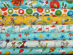 dr seuss assorted gift wrapping paper pieces by polly fabric selection nativity in the trees quilt