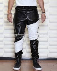 Cowhide Pants Leather Drop Crotch Pants Men Leather Drop Crotch Pants Men
