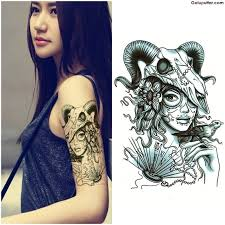 best arm tattoo of skull for cool ever goluputtar com