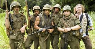 Tropic Thunder Meme - fact check image of vietnam vets is a still from a movie