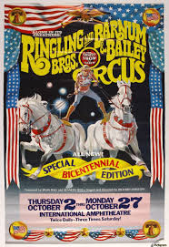 Barnes And Bailey Circus Ringling Bros And Barnum With Bailey Circus The Greatest Show On