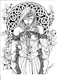 witch coloring pages adults holiday halloween coloring