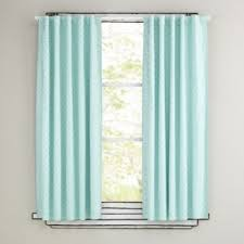 set of two window curtains spa blue curtain panels sweet jojo