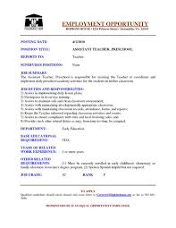 resume sles for teachers aides pendant student support services child study institute bryn mawr
