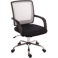 White Mesh Office Chair by Office Chairs Home Office Furniture Indoor Furniture Robert Dyas