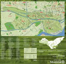 Map Of Montreal Montreal Maps Canada Maps Of Montreal