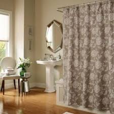 Neutral Shower Curtain Luxury Fabric Shower Curtain Foter