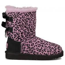 ugg sale pink ugg toddlers bailey bow rosette boots on sale 99 99 and free