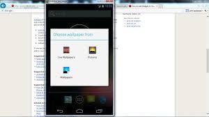 android sdk emulator how to add an app widget on the android sdk emulator home screen