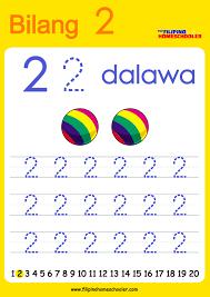 free filipino numbers worksheets from 1 10 the filipino homeschooler