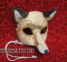 leather mardi gras masks made to order okami wolf mask masquerade japanese leather