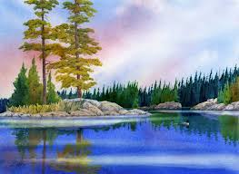 paint places painting wild places with watercolors learn to paint tranquil