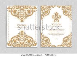 elegant save date card design vintage stock vector 358901417