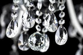 Crystal And Black Chandelier 104 8 4 Ch Chrome White Crystal Chandelier Grandoluce