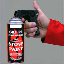 Fire Resistant Paint For Fireplaces Stove Bright Pewter Heat Resistant Paint 400ml Spray Fireplace