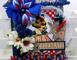 celebrate patriotic house tag holiday home decor polly u0027s paper