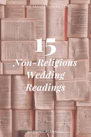 wedding quotes readings 15 of the best non religious wedding readings secularly wed
