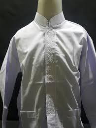 Seragam Sekolah Lengan Panjang jual baju koko lengan panjang anak anak seragam sekolah no 14 15