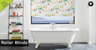 Roller Blinds Moisture Resistant Bathroom Blinds Luxury Made To Measure In The Uk English Blinds