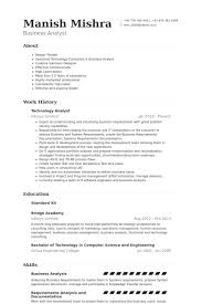 Hr Analyst Resume Sample by Technology Analyst Resume Samples Visualcv Resume Samples Database